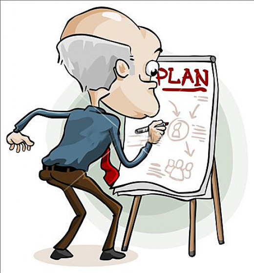 Always plan ahead of time
