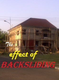 The effect of Backsliding