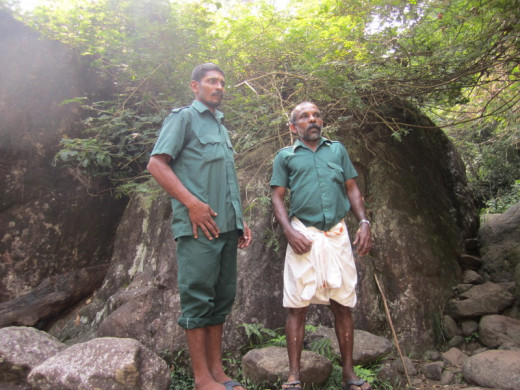 The guides who accompany the trekkers