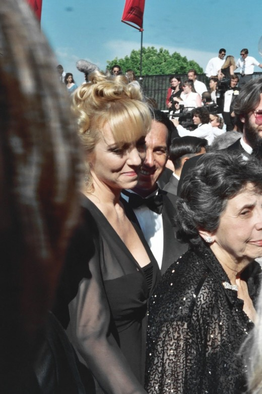 Brett Butler seen at the 1994 Emmy Awards