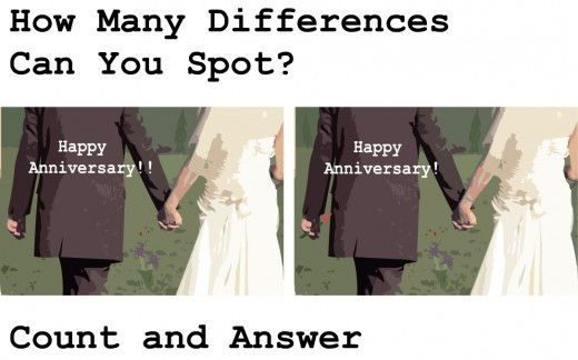 How Many Differences are there?