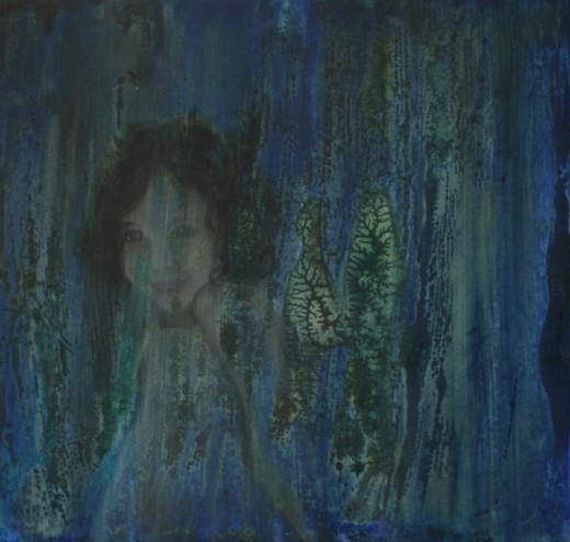 Vera Lin, 2012, Dream 5 [oil on board], Auckland, NZ.