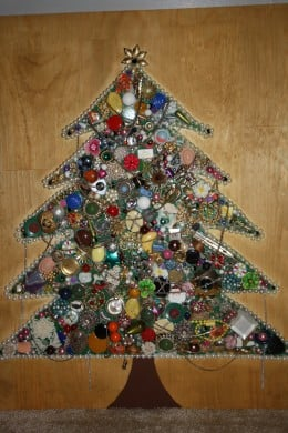 My jewelry Christmas Tree
