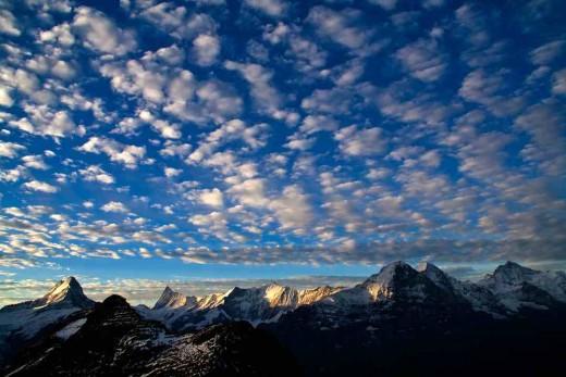 Cloud Patterns over Switzerland courtesy of hilloah.com copyright hilloah.com