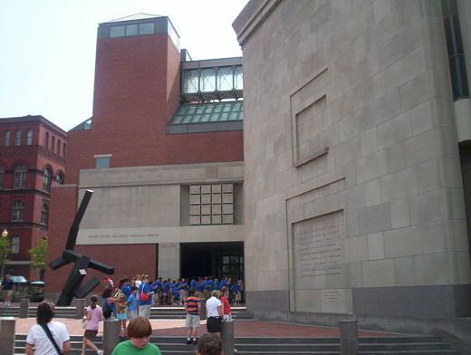 The Holocaust Museum was photographed by CJStumpf on June 9, 2006.