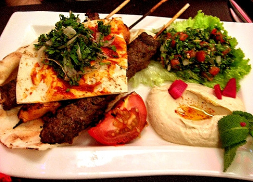 Calories lebanese food healthy choices at restaurants for About lebanese cuisine