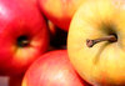 Enjoy a fresh apple