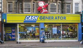 Cash Generator on Albany Road, Roath, Cardiff