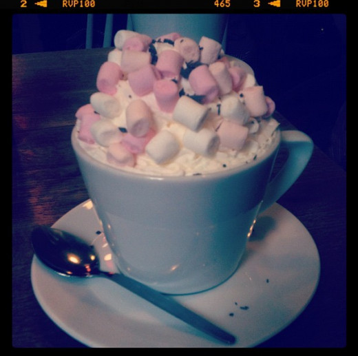 My Sisters Giant Hot Chocolate