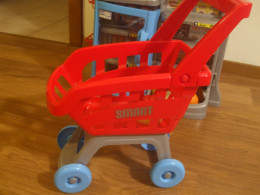 The good quality trolley that has been driven a few kms around the house :)