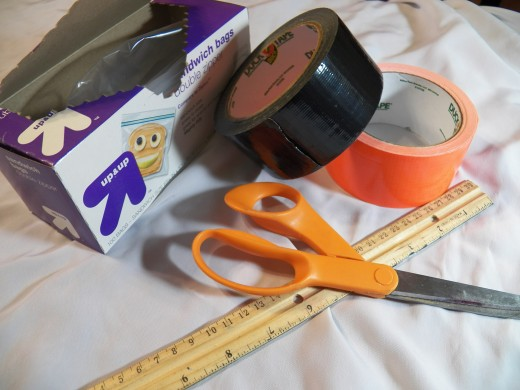 Duct tape Tote Materials