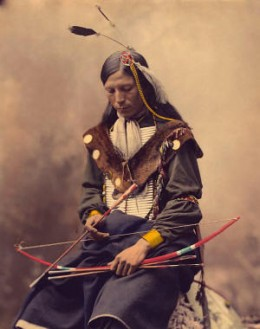 Cherokee Indian Hunting.