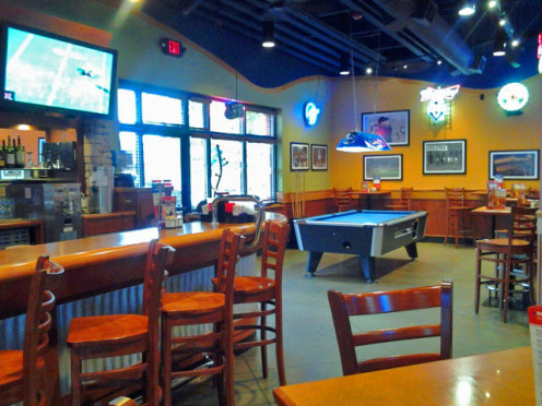 The Sports Bar at Boston's Restaurant