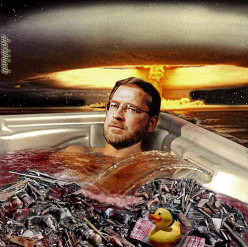 Emperor Norquist Comes Undone! Grover: Becoming So Small That He May Drown In His Own Bathtub!