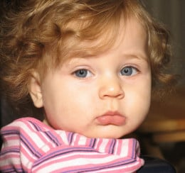 Who could resist a cute little pout like this? Kids names can be just as hard to remember as adult names. Using some of these techniques should help, though.