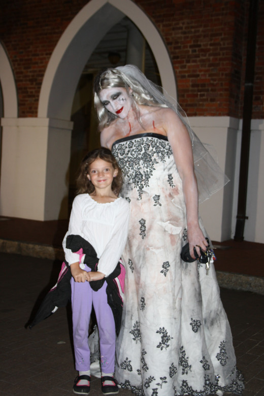 My youngest daughter loves Zombie's, espically this Zombie Bride!
