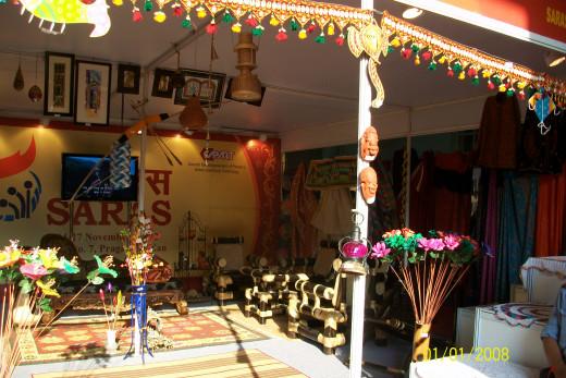 Furniture, craft made of bamboo, jute etc.