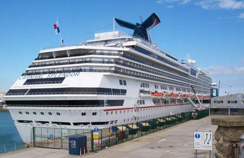 Carnival Splendor at Cruise Terminal 2