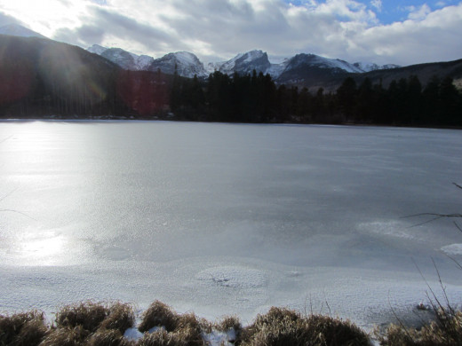 Sprague Lake in Rocky Mountain National Park