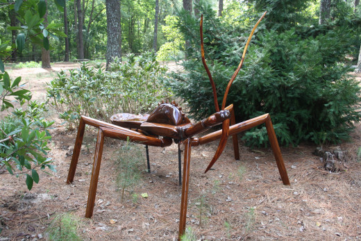 Part of the big bug exhibit.