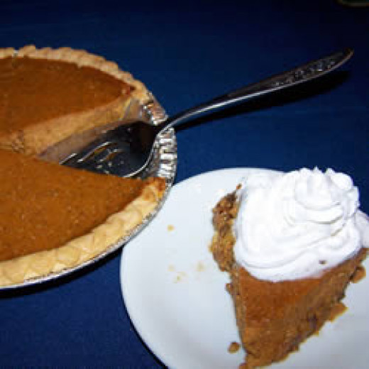 It just isn't Thanksgiving without the Pumpkin Pie!
