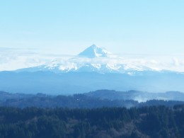 Shot from the top of Mt. Scott  (Clackamas Oregon)prior to sunset