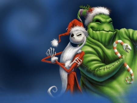 oogie boogie and jack skellington