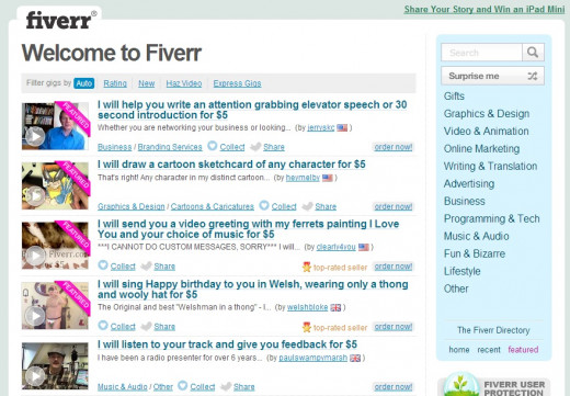 Fiverr is a valuable tool for people interested in making money online.