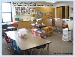 Back to School Advice for Parents of Special Needs Children