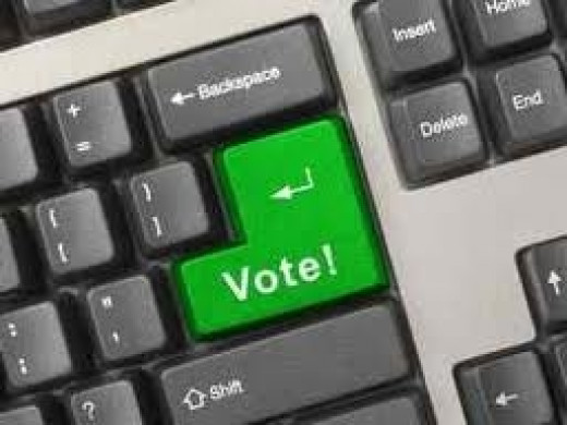 Executive decisions for any given organization can be done via online polling.