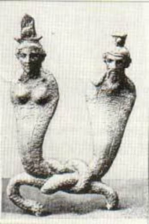 Unknown artist, n.d. Isis and Osiris.