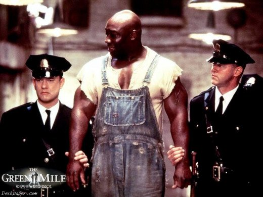 The gentile giant of Green Mile