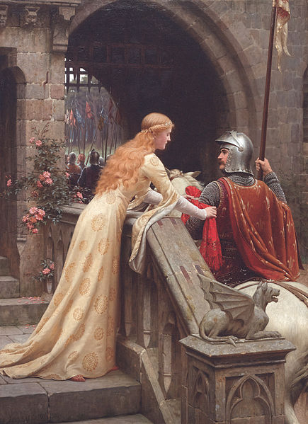 Courtly love was much more difficult than anything we have today, so be glad you don't have a hundred rules to follow!