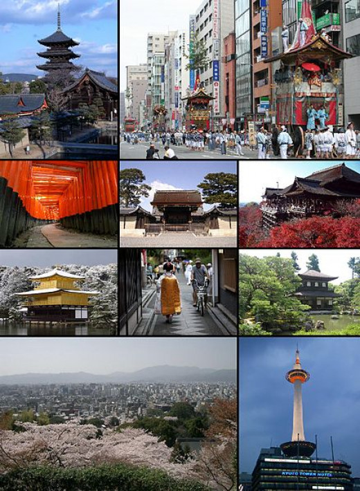 Kyoto: An amazing mesh of old and new.