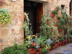 "A Villa in Tuscany - Part 4 of a Series -  ""Ah""  Pienza"