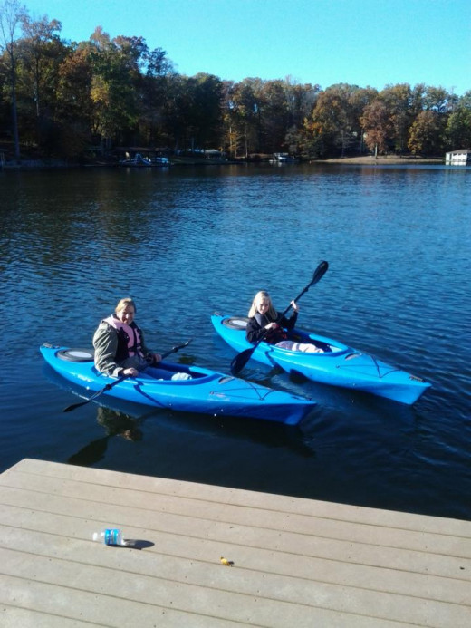 Kayaking is one of many activities to do on a lake