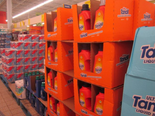 They say this brand of laundry detergent is equal to the brand, Tide--at half the price.