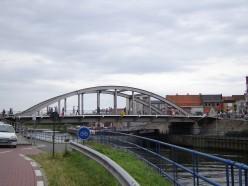 Menen Bridge, Menen, West Flanders, Belgium