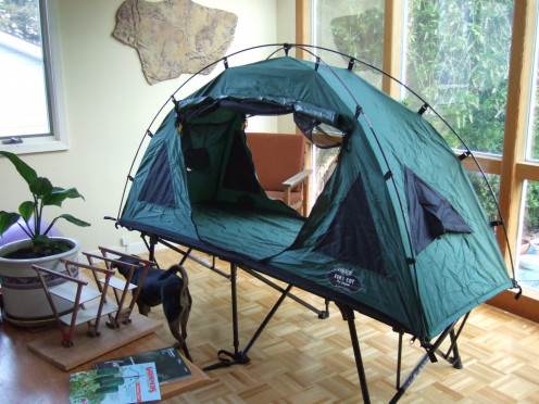 Sold by K&-rite these tents have a built in cot and are for & How to Choose the Right Tent for Your Camping Trip | HubPages