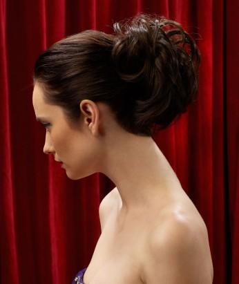 Wedding hair updo piece
