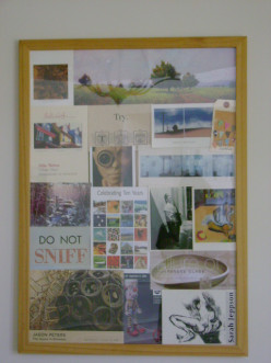DIY Craft Tutorial:  How to Make an Interesting Photo Collage