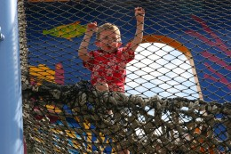 The Bay of Play is an excellent place to let kids burn off pent-up energy.