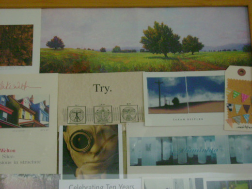 use an interesting composition to make a collage  (c) purl3agony 2012