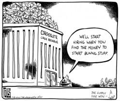 Supply-Side Economics Cartoon
