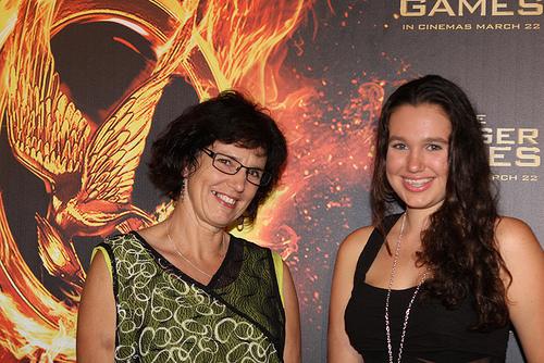 Hunger Games Premier in Sydney, Australia