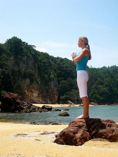 yoga clears the mind and reduces stress