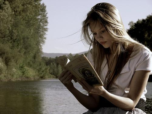 reading gets you unplugged and relaxed