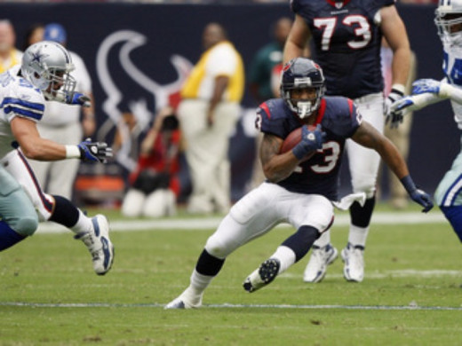 Arian Foster looks to lead the Texans to a Super Bowl run.
