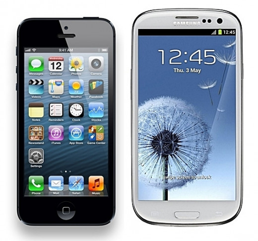 Apple iPhone 5 vs Samsung S3 - 2013 Top 10 Ultimate Birthday Gifts for Men