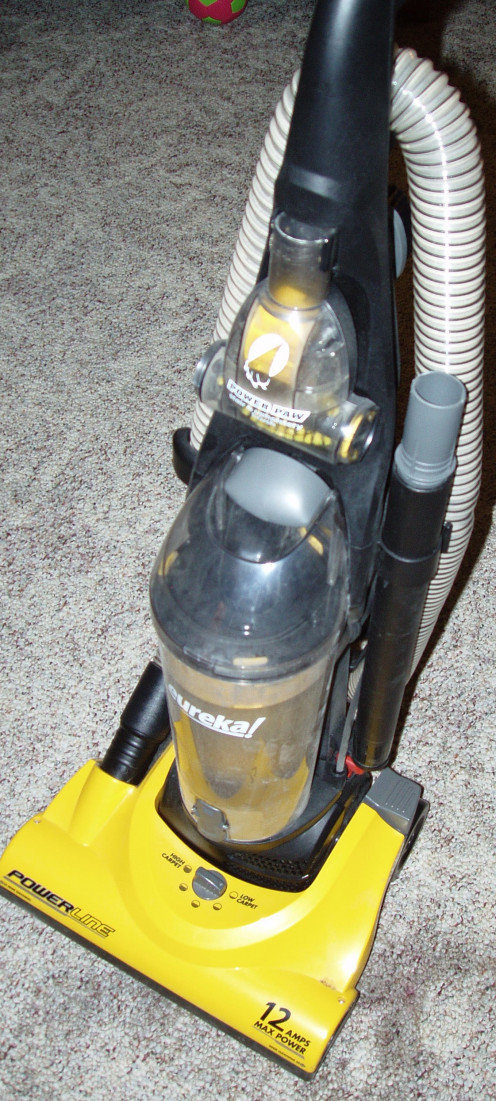My awesome Eureka vacuum.